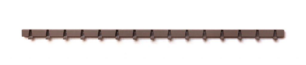 Coatrack by the Meter - nieuwe kleuren 1,5 meter RAL7006 Beige-grijs