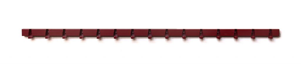 Coatrack by the Meter - nieuwe kleuren 1,5 meter Rood