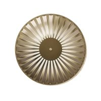 glintlightflat wall light studiosusannedegraef hr alu gold 01b white