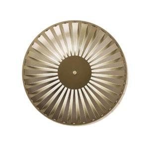 glintlightflat wall light studiosusannedegraef hr alu gold 01b white