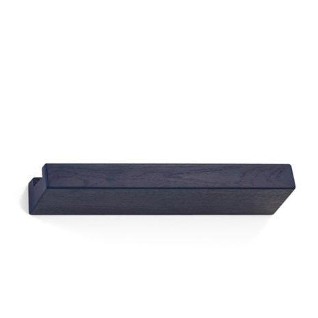 lookshelf shop 50 cm coloured wood blue