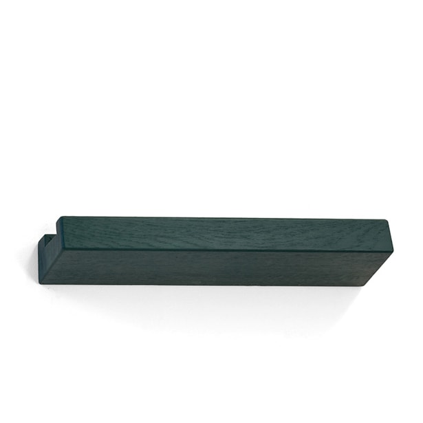 lookshelf shop 50 cm coloured wood green