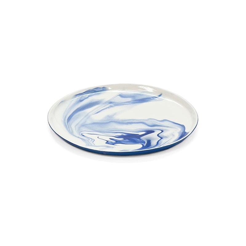pigments porcelain plates m cobaltblue perspective shop