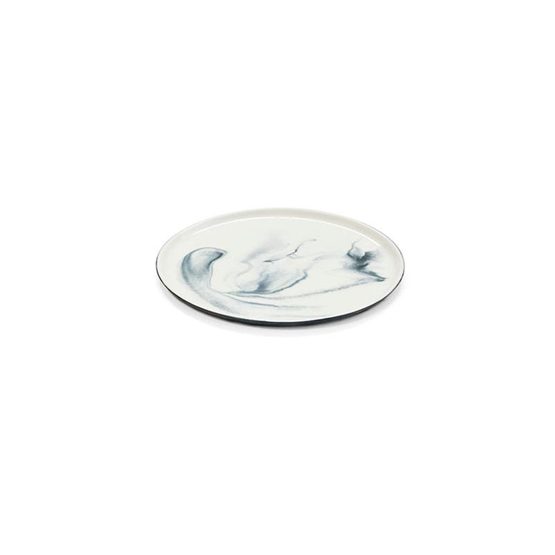 pigments porcelain plates s black perspective shop