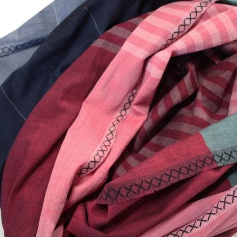vij5 fibonacci fabrics shawl multi detail 01 2014 image by vij5 shop