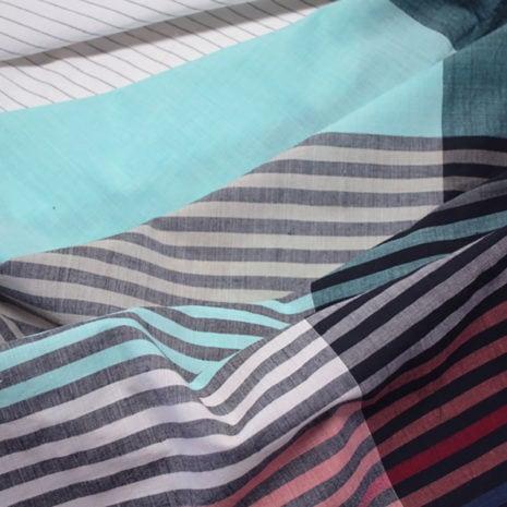 vij5 fibonacci fabrics shawl multi stripe detail 02 2014 image by vij5 shop