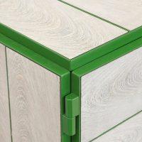 vij5 framed cabinet 4x2 door custom size custom colour ral6010 image by vij5 7