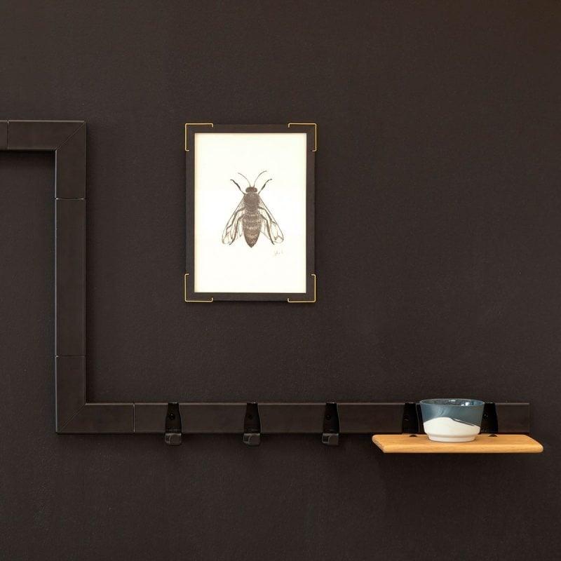 vij5 showroom black coatrack black wall 2017 image by vij5 shop