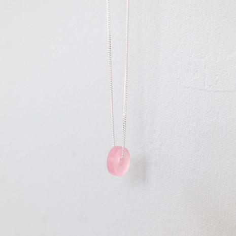 vij5 solid hook tempered steel dot rod necklace moederdag 2020 img 6507