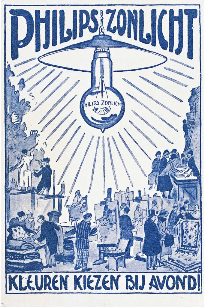 glint light inspiration philips company archives 1918