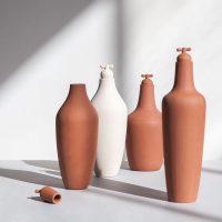 tap water carafe stoneware terracotta