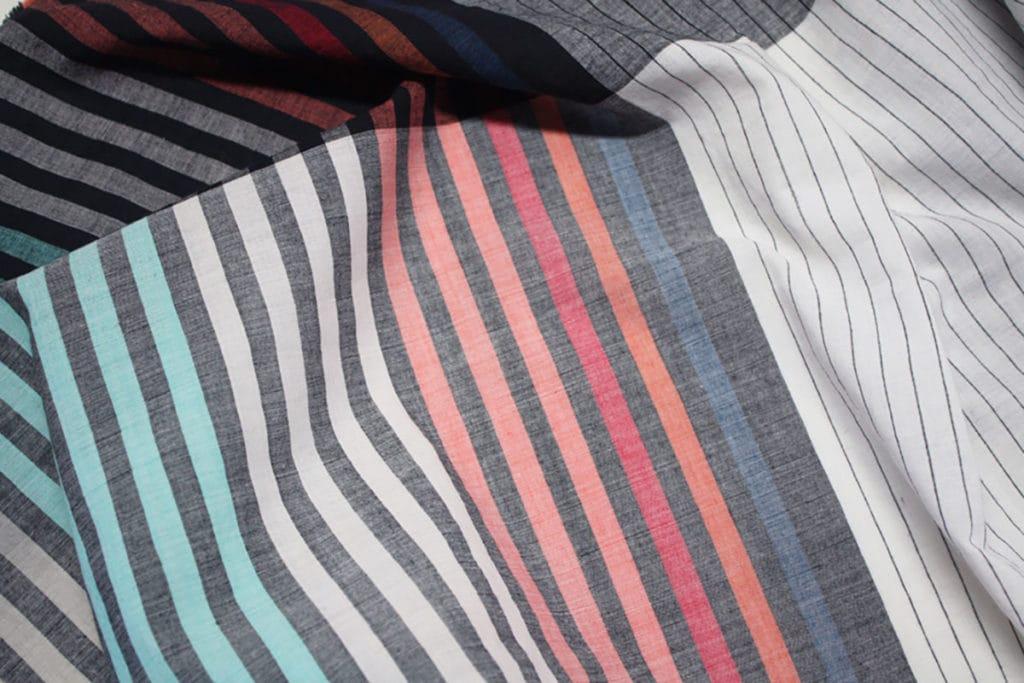 vij5 fibonacci fabrics shawl multi stripe detail 01 2014 image by vij5 800x1200 1
