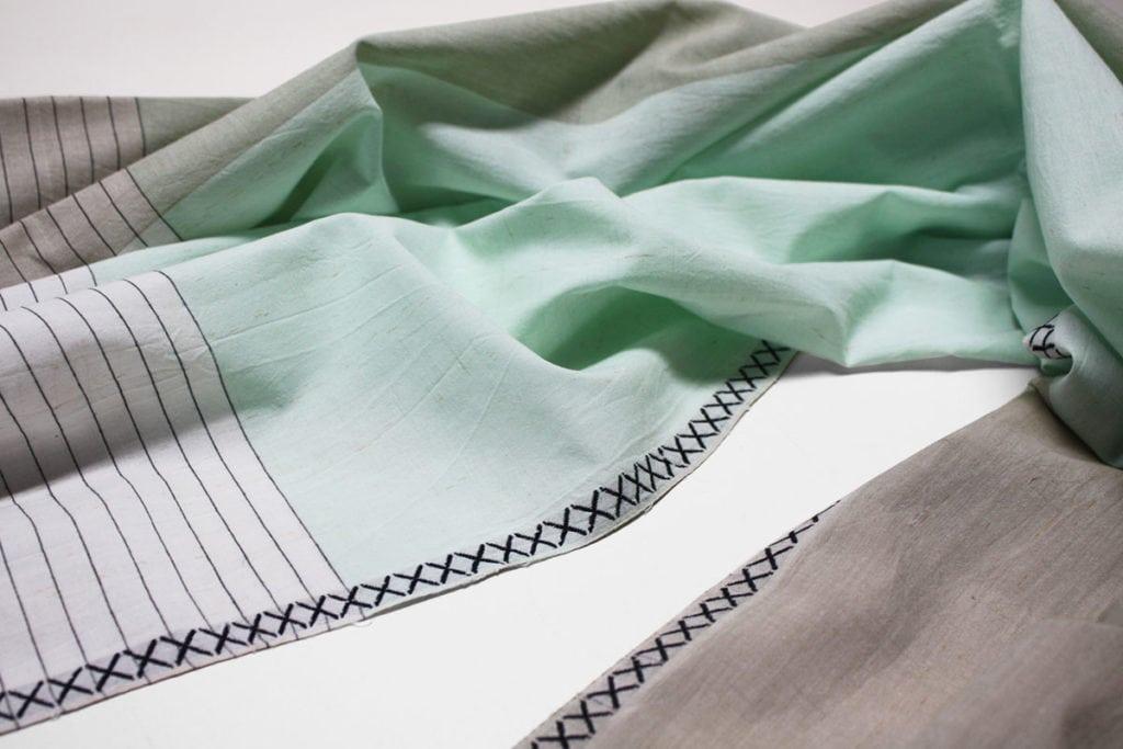 vij5 fibonacci fabrics shawl neutral green detail 01 2014 image by vij5 800x1200 1