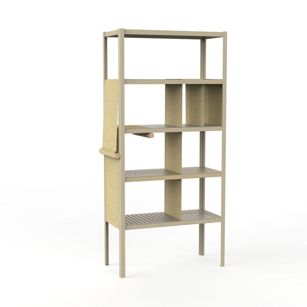 dressed cabinets ral1000 kvadrat414 hoog doek3