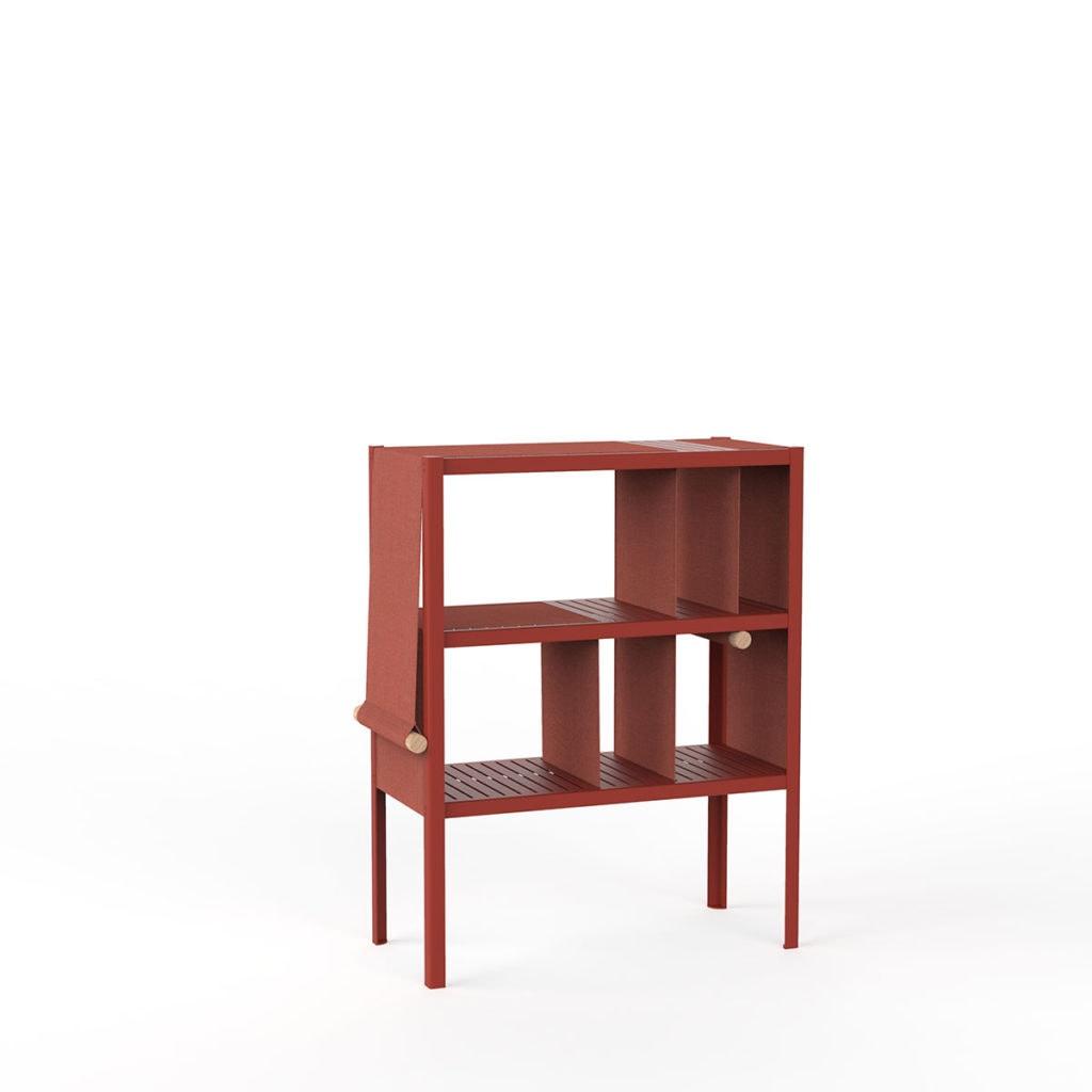 dressed cabinets ral3016 kvadrat566 laag doek3
