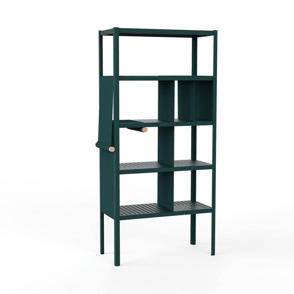 dressed cabinets ral6004 kvadrat984 hoog doek3