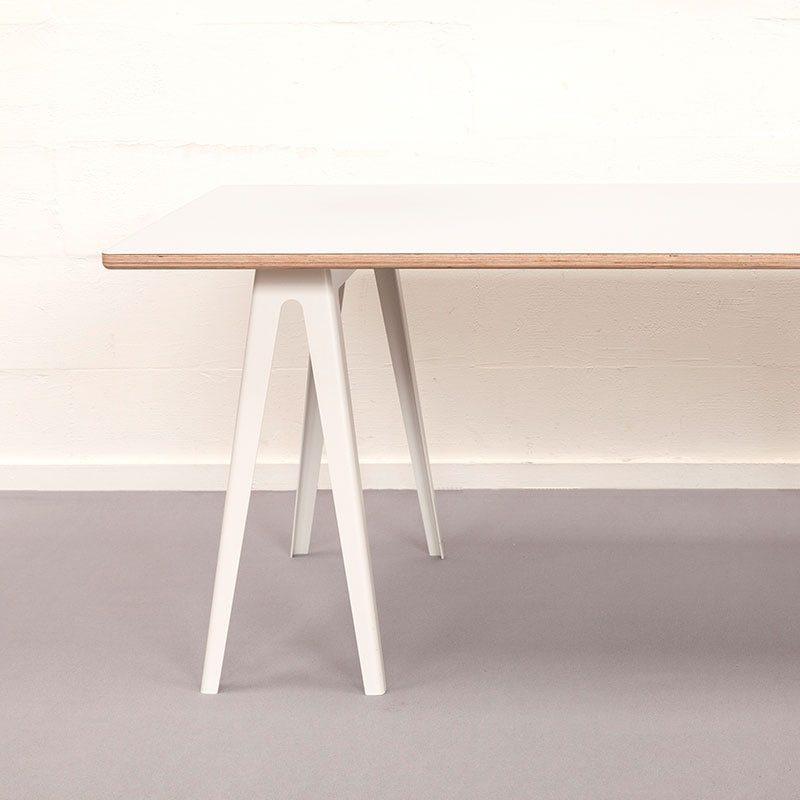 vij5 trestle table by david derksen hpl white 2019 image by vij5